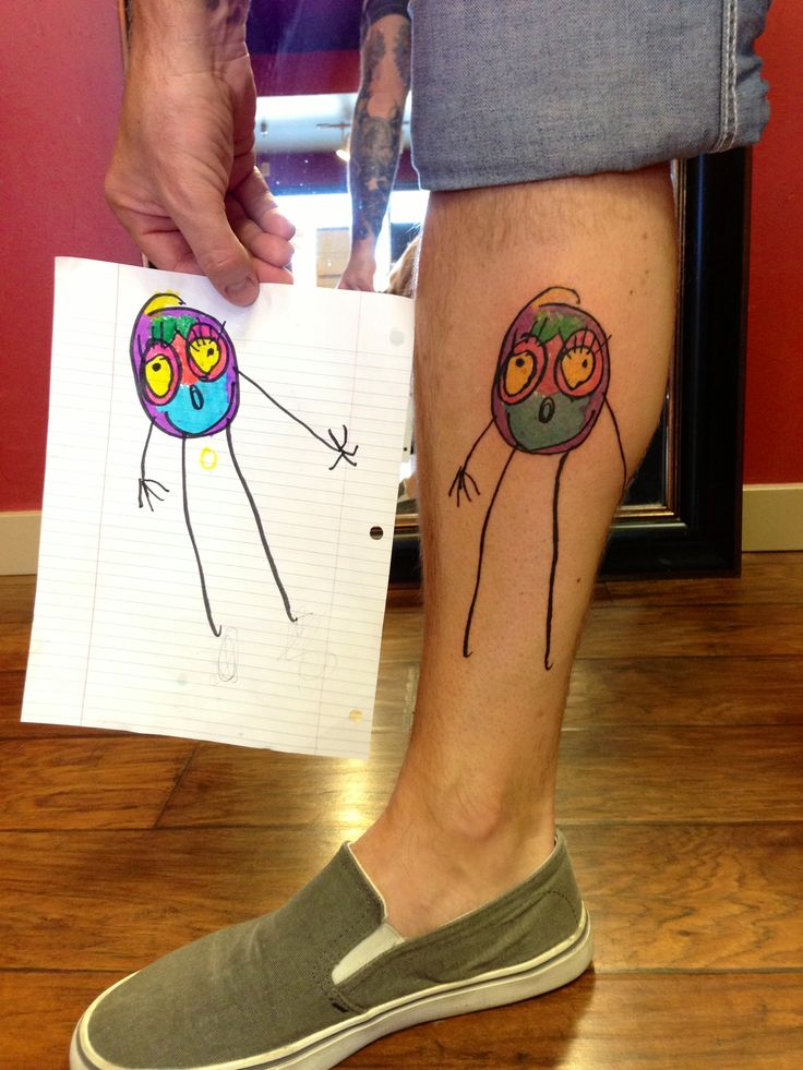 10 ideas de tatuajes para padres 6