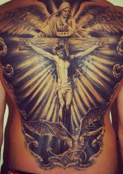 Tatuajes de Cristo. Ideas originales para tu tattoo de cristo!