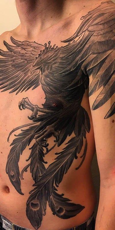 Tatuajes De Aves Fenix Descubre Nuestra Selección De Mejores Tatuajes