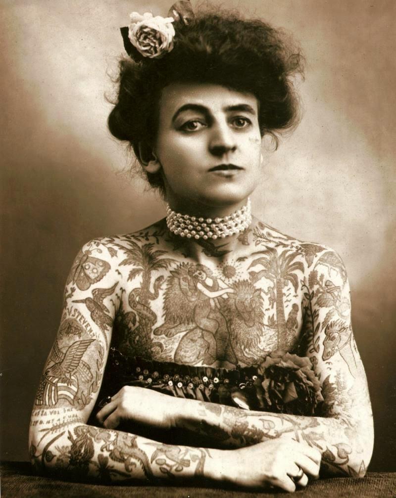 Tatuajes para mujer del origen hasta hoy en día 2
