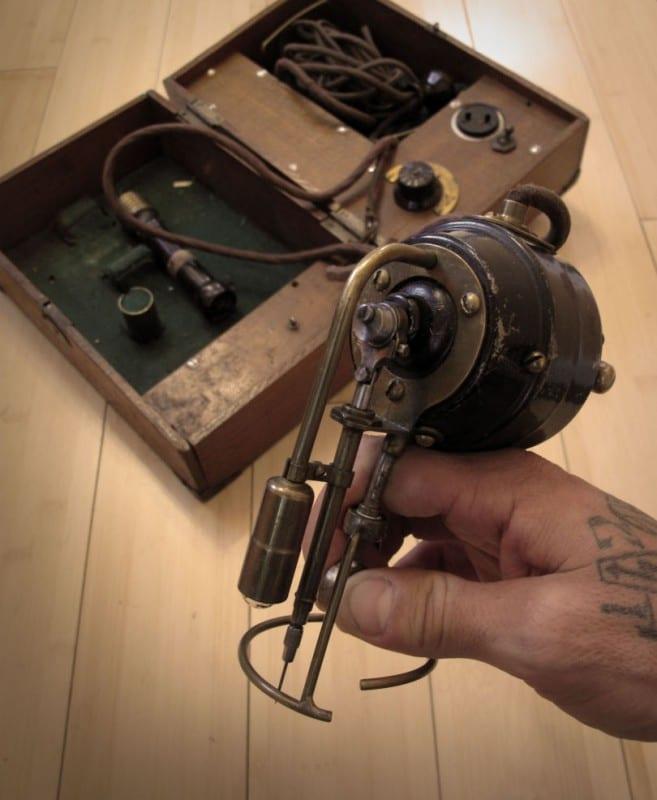 Maquina de tatuaje Samuel OReilly