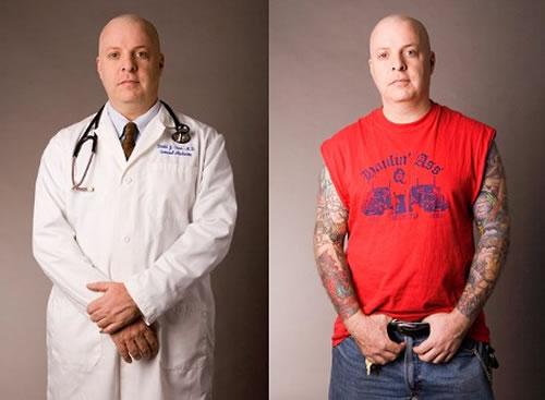 medico con tatuaje