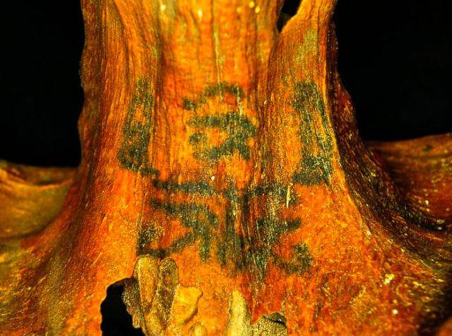 tatuaje de momia egipto