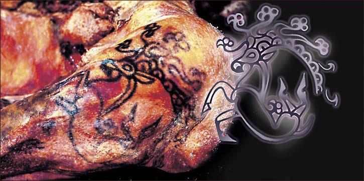 tatuaje princesa siberiana