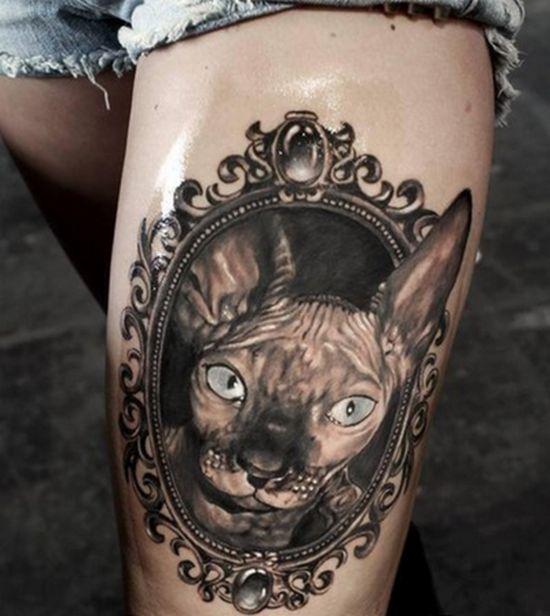 Tatuajes de mascotas para los amantes de los animales 3