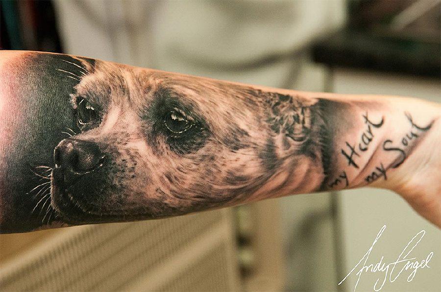 Tatuajes de mascotas para los amantes de los animales 6
