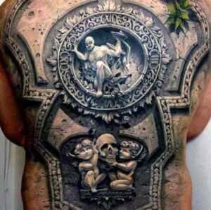Tatuajes con efectos: ilusiones ópticas sobre la piel