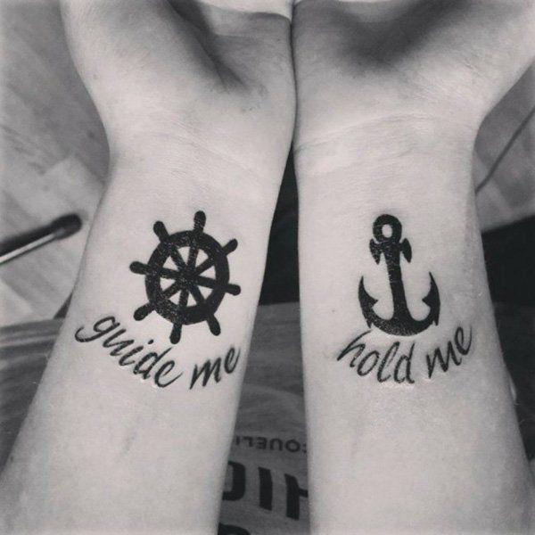 Tatuajes Para Dos Las Mejores Ideas Para Compartir Un Tattoo