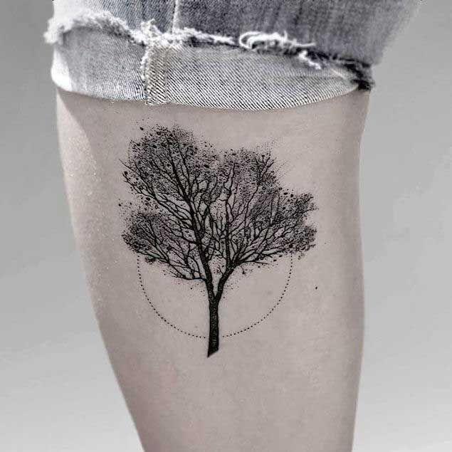 Tatuaje minimalista: el gusto por la sencillez en la piel 11