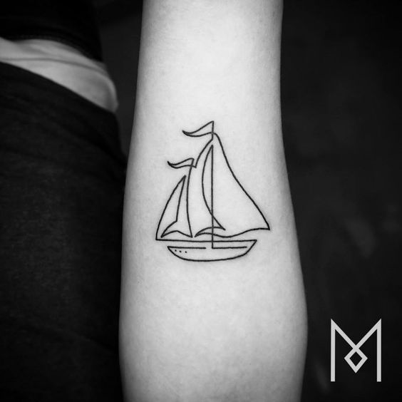 Tatuaje minimalista: el gusto por la sencillez en la piel 8