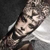Tatuajes blanco y negro: nueva tendencia.