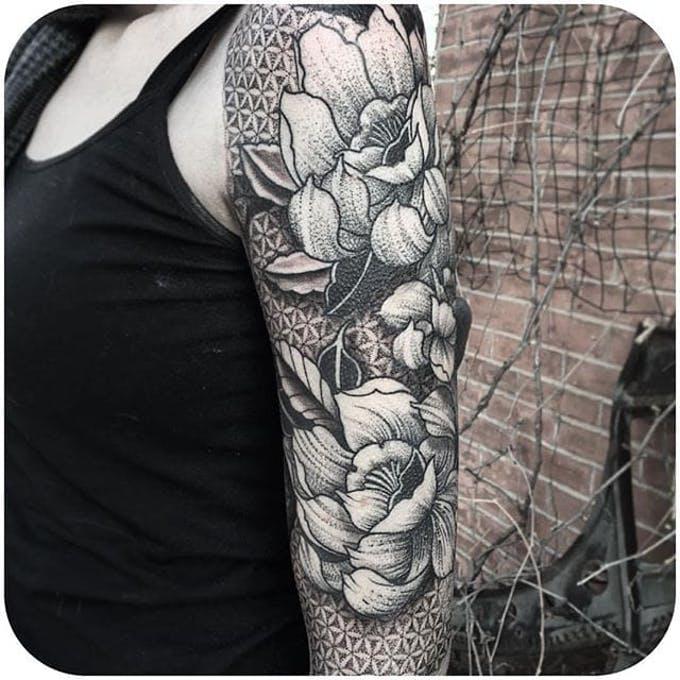 Tatuajes Blanco Y Negro Nueva Tendencia Inspirate Con Nuestra