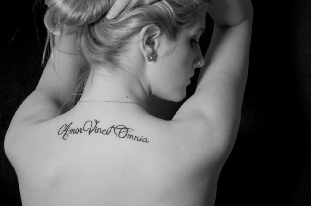 Tatuajes de frases: ¿Sabes cuáles son las frases más populares? ¡Te las mostramos! 1
