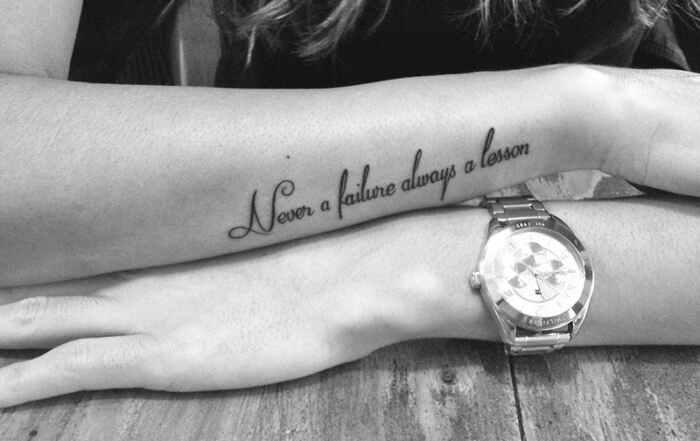 Tatuajes de frases: ¿Sabes cuáles son las frases más populares? ¡Te las mostramos! 7
