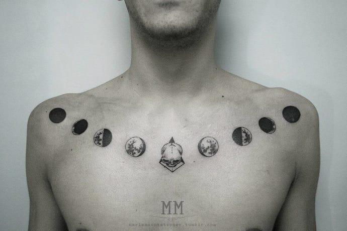 Marla moon y su vision de como tiene que ser un tattoo de luna