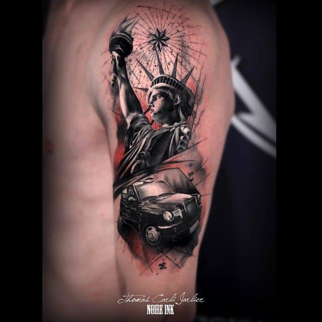 Tatuajes De Monumentos Los Lugares Más Visitados En Tu Piel