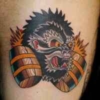 Tatuajes neo tradicionales