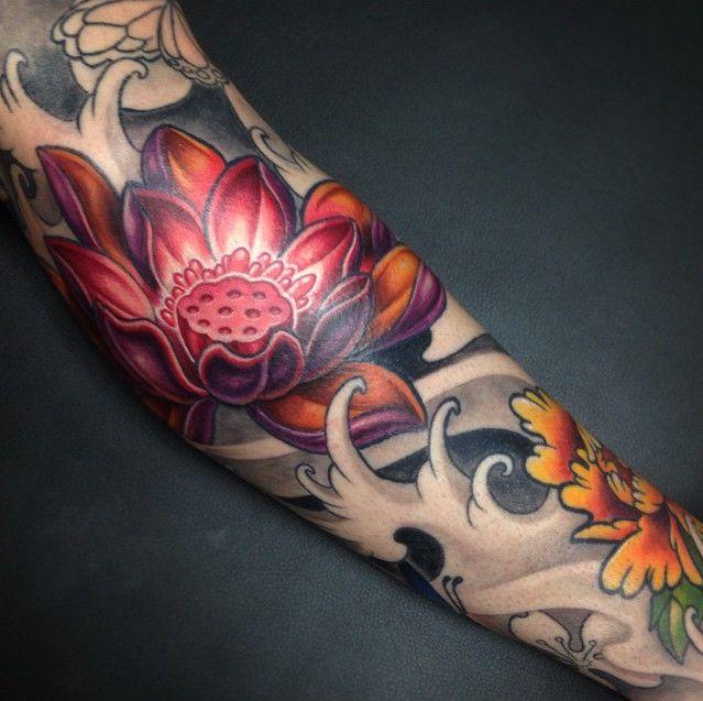 Tatuajes orientales: de las geishas a los peces Koi. 12