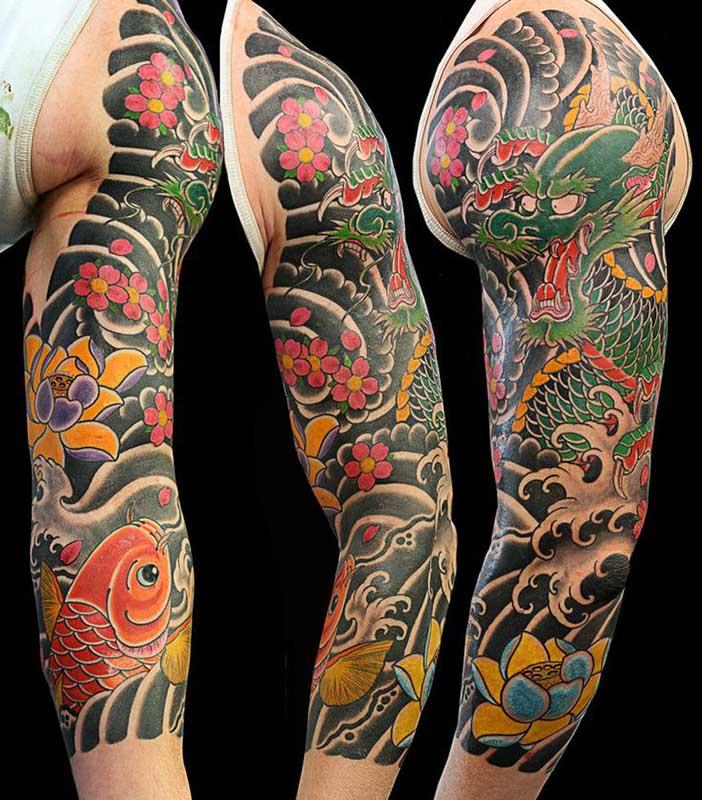 Tatuajes orientales: de las geishas a los peces Koi. 7