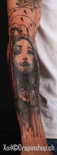 Xoïl AKA Loïc, encuentro con un maestro de los tatuajes estilo Photoshop. 14