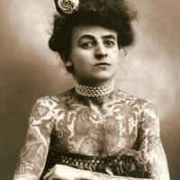 Maud Wagner: la primera mujer tatuadora de la historia. 11