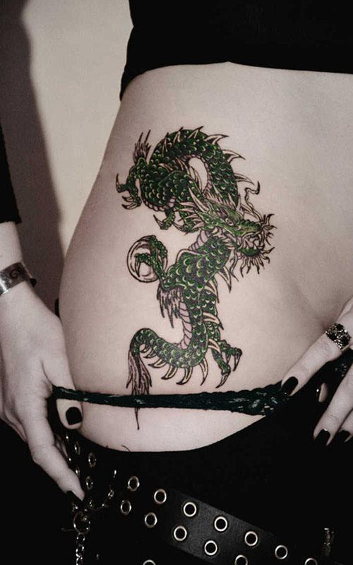 Tatuajes de dragones para mujeres: ¡son tendencia! 16