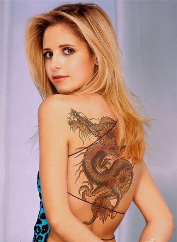 Tatuajes de dragones para mujeres: ¡son tendencia! 17