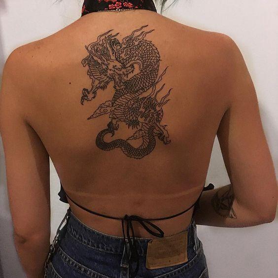 Tatuajes de dragones para mujeres: ¡son tendencia! 20