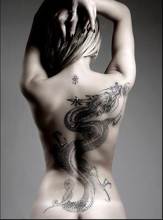 Tatuajes de dragones para mujeres: ¡son tendencia! 22