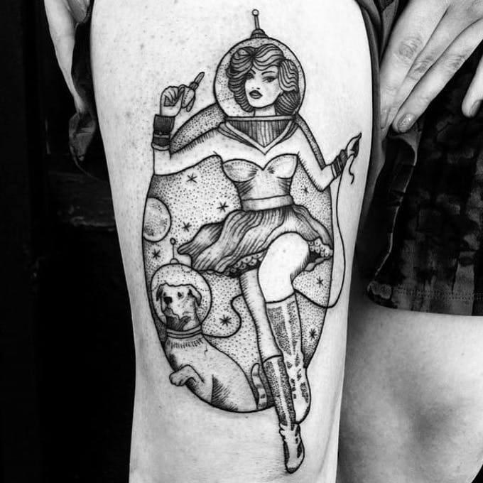 Tatuajes del espacio: posibilidades sin límites. 9