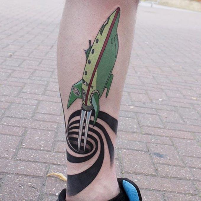 Tatuajes del espacio: posibilidades sin límites. 2