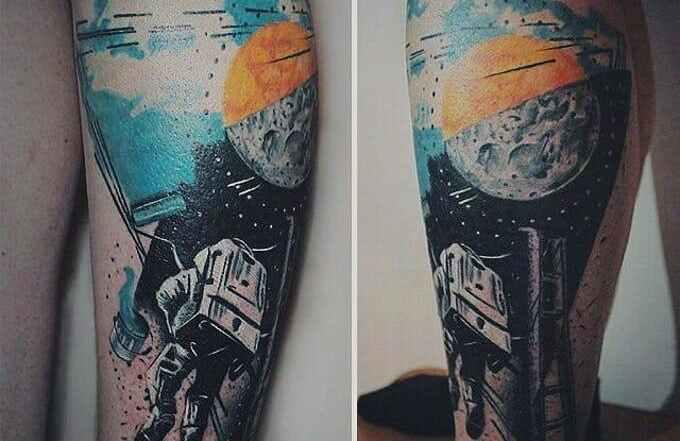 Tatuajes del espacio: posibilidades sin límites. 3