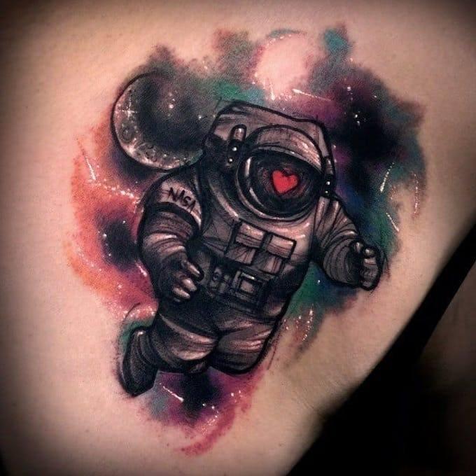 Tatuajes del espacio: posibilidades sin límites. 4