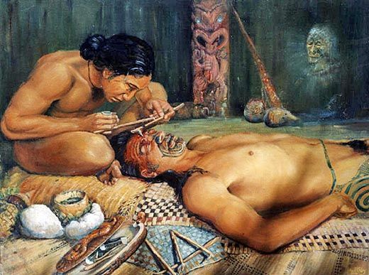Tatuajes Maorí: la iconografía ancestral 1