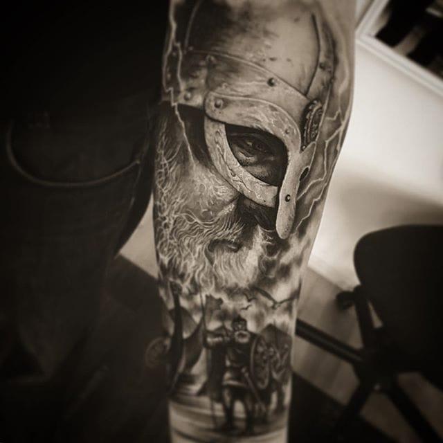 Tatuajes vikingos y sus simbologías. 1