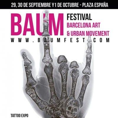 No te pierdas el Baum Fest Barcelona, laXX Convención Internacional del Tatuaje