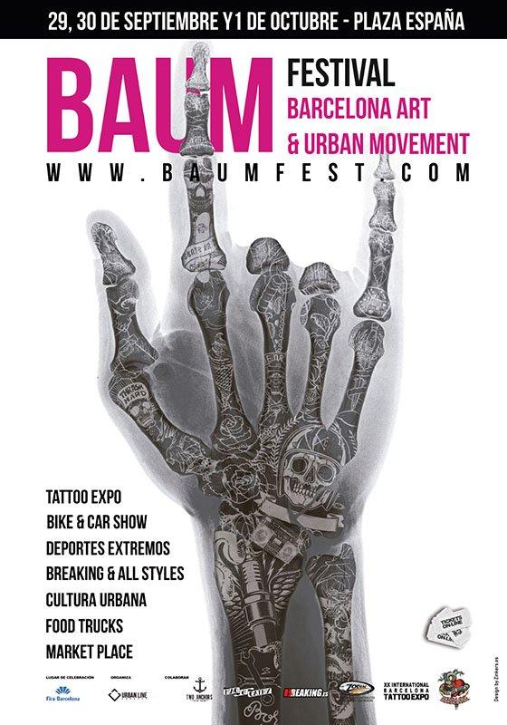 No te pierdas el Baum Fest Barcelona, laXX Convención Internacional del Tatuaje 2