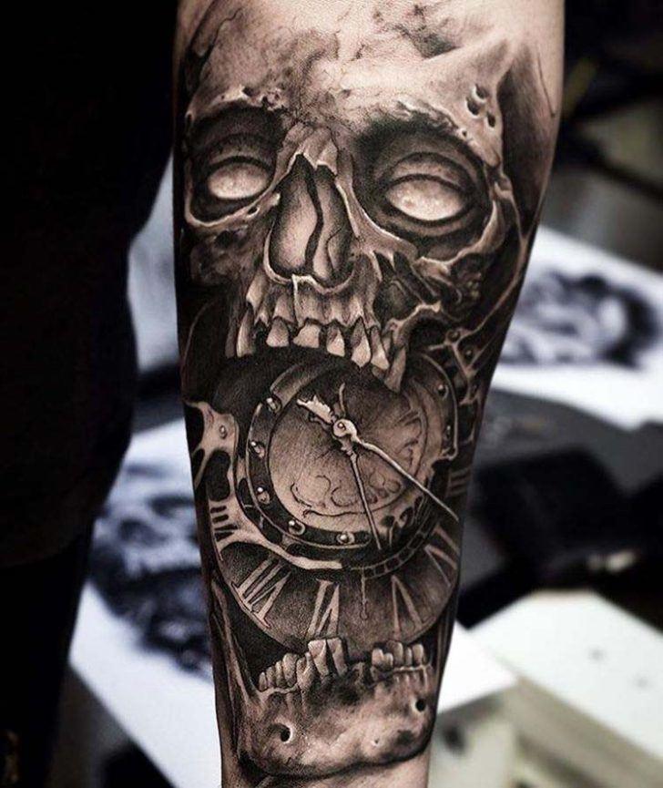 Tatuaje de reloj: marca la hora en tu piel 2