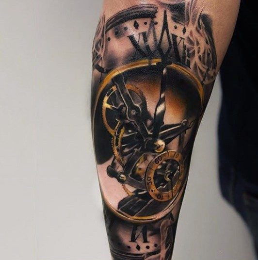 Tatuaje De Reloj Marca La Hora En Tu Piel Descubre
