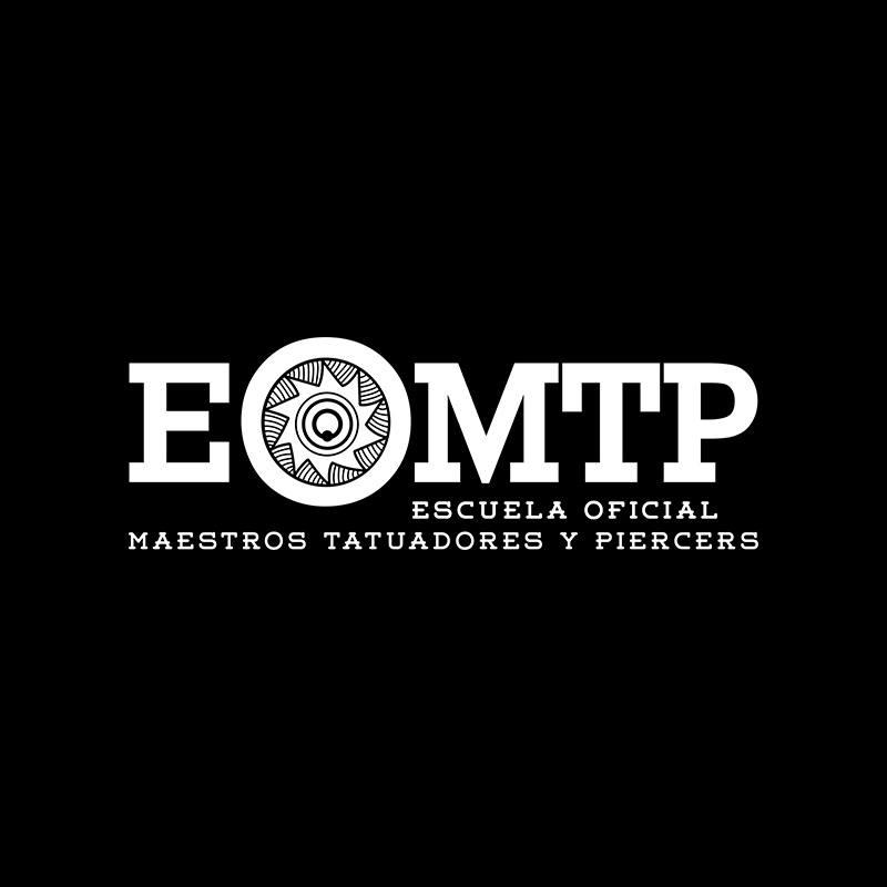 Logo de la escuela de tatuajes EOMTP