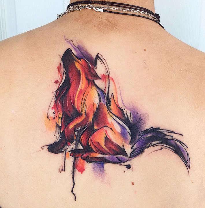 Tatuaje Acuarela
