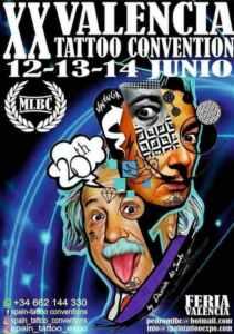 20ª Valencia Tattoo Convention @ Feria Valencia