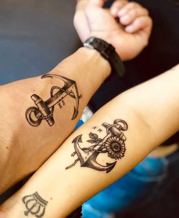 Los tatuajes más simbólicos para parejas