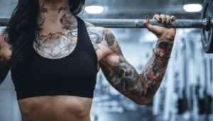 Los tatuajes y el ejercicio