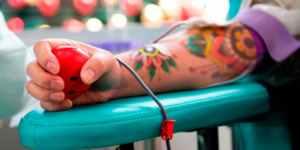 Não pode doar sangue?